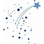 stickers-etoile-filante-bleue