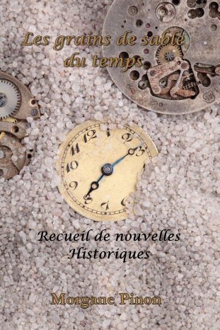 antique clocks buried in sand
